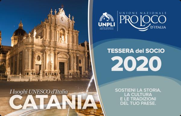 Tessera del Socio Pro Loco 2020